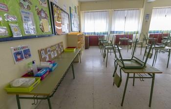 Cinco nuevas aulas en cuarentena en Burgos este martes