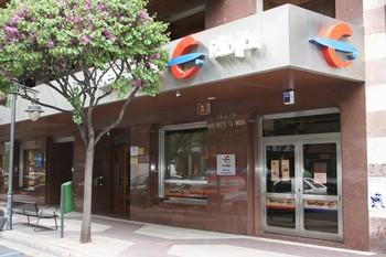Oficina principal de Ibercaja en Logroño.