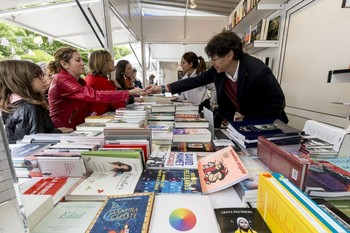 Última edición de la Feria del Libro en El Espolón.
