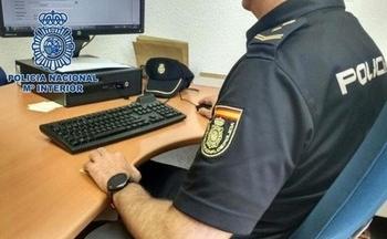 Agente de la Comisaría de Las Delicias.