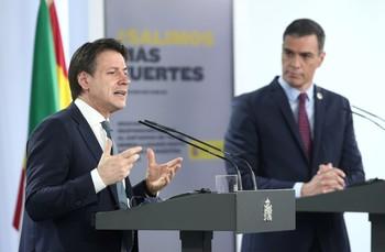 Italia apoyará la candidatura de Nadia Calviño