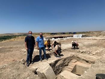 Comienzan las visitas al yacimiento romano de Duratón
