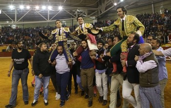 Morante, Manzanares y Aguado salen a hombros en Illescas en el festejo celebrado el 7 de marzo de 2020