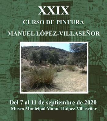 Convocado un nuevo curso de pintura Manuel López-Villaseñor