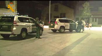 La Guardia Civil sigue controlando la actividad anti covid