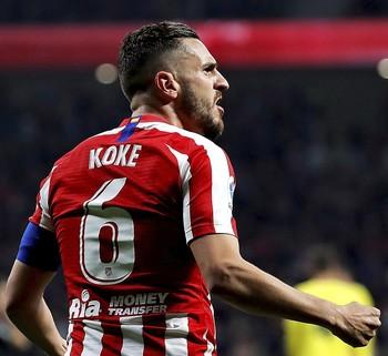 Koke, el motor que mueve al Atlético