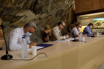 La Junta refuerza la promoción de Siega Verde (Salamanca)