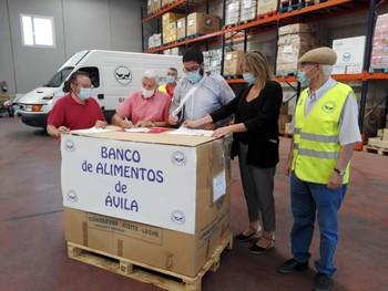 El Ayuntamiento firma un convenio con el Banco de Alimentos