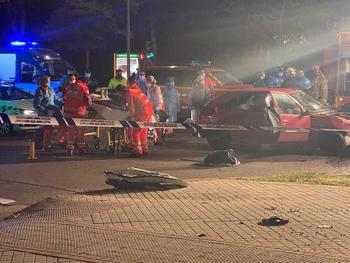 Un fallecido en una colisión en un cruce de Huerta del Rey