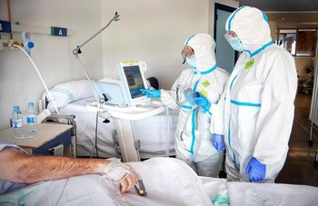 Ciudad Real tiene 18 pacientes ingresados, 8 con respirador