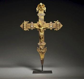 Sotheby's subasta una cruz burgalesa de los siglos XIV-XV
