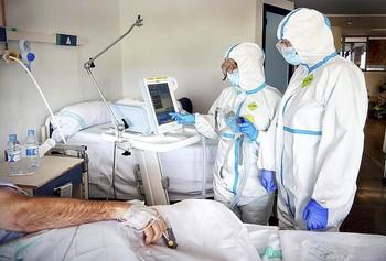 El 19,44% del total regional de hospitalizados se encuentra en centros sanitarios públicos de Toledo.