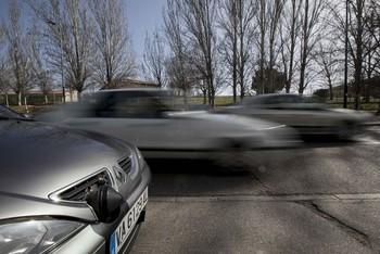 295 denuncias por exceso de velocidad en una semana