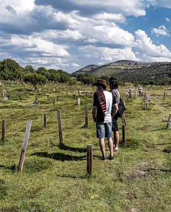 La recuperación del cementerio de Sad Hill es el fruto más visible del trabajo de la asociación que lleva su nombre.