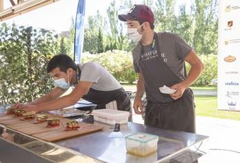 50 cocineros se juegan en Palencia el título al mejor pincho