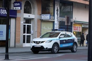 Imagen de archivo de un vehículo de la Policía Local.