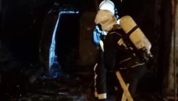 Herida grave una mujer en el incendio de su casa en Zizur