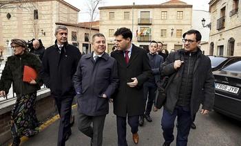 Page anuncia una «magna» exposición sobre Toledo y Burgos
