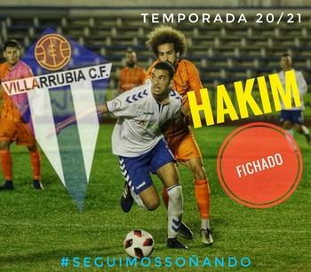 Hakim refuerza el centro del campo del Villarrubia