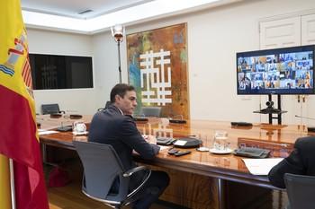 Sánchez pide a las CCAA lugares donde alojar a asintomático