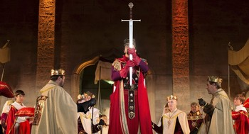 Una de las escenas de El Reino de Nájera en una edición anterior.