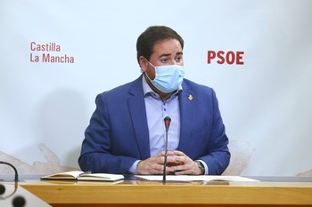 El diputado socialista Pablo Camacho.