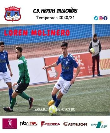 El Villacañas ficha a Loren Molinero, del Socuéllamos.