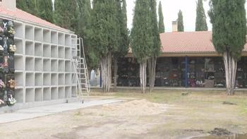 Nueva ampliación en el Cementerio Municipal