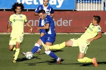 El Alavés arranca un valioso empate ante el Getafe