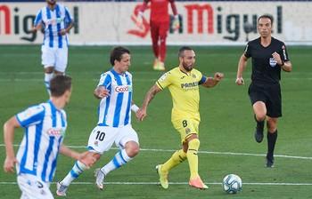 Una brillante Real anula al Villarreal en duelo por Europa