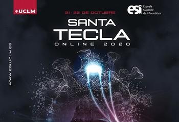 Santa Tecla se celebra este año en la red