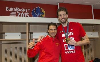 Nadal y Gasol se unen a Cruz Roja para recaudar 11 millones