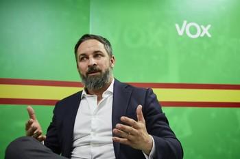 Abascal presentará la 'Agenda España' de Vox en Valladolid