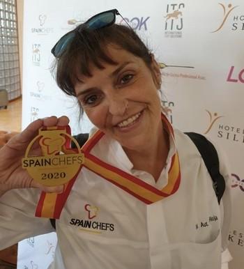 Yolanda San Martín se prepara para 'La Roja' de la cocina