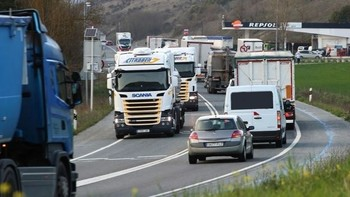 Un menú por 5 euros para transportistas en Navarra