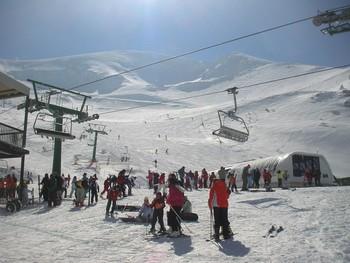 Imagen de la estación invernal en una de las pasadas campañas.