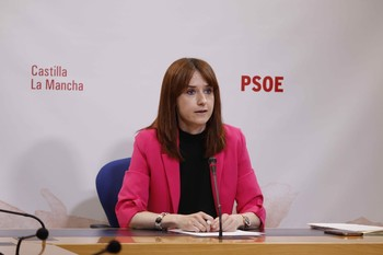 Diana López, diputada del PSOE en las Cortes regionales.