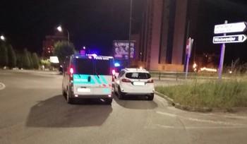 La Policía Local intercepta en la glorieta Félix Rodríguez de la Fuente un vehículo cuyo conductor casi cuadruplicó la tasa de alcohol.