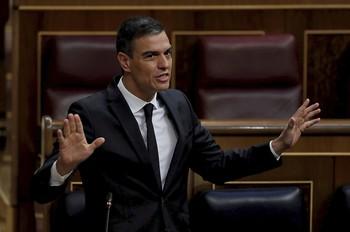El presidente decepcionó a 'jeltzales' y liberales hace una semana cuando llegó a un pacto secreto con EH Bildu para asegurarse su abstención.