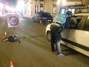 La Policía Local arrestó a dos personas por conducir ebrias