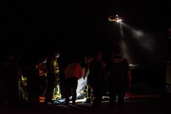 Cuatro inmigrantes muertos al volcar una patera en Lanzarote
