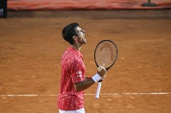 Novak Djokovic conquista el Foro Itálico