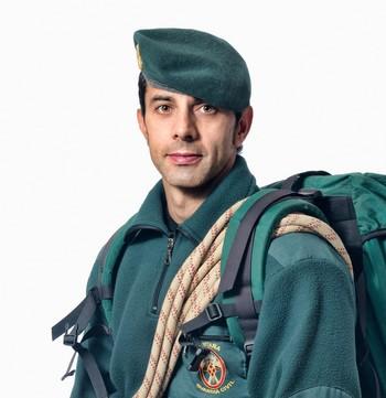 El sargento primero de los Greim, Enrique Ferrero.