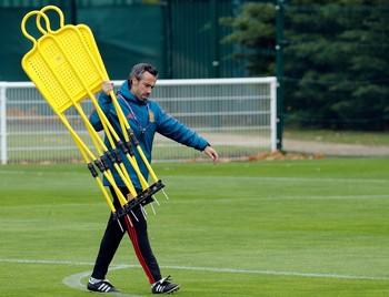 El entrenador de la selección española, Jorge Vilda