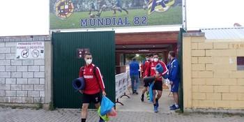 Los jugadores blanquirrojos salen del Mundial tras completar el primer turno de entrenamientos.