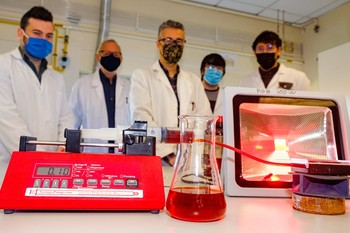 La UR investiga sobre un combustible de energía solar