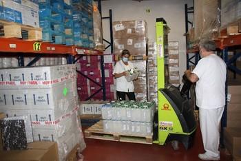 El Área de Salud recibe 19.600 artículos de protección