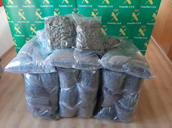 4 años para dos mulas que llevaban 44 kilos de marihuana