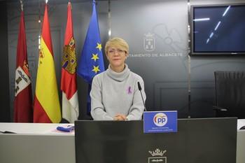 Joaqui Alarcón, concejal del PP en el Ayuntamiento de Albacete.