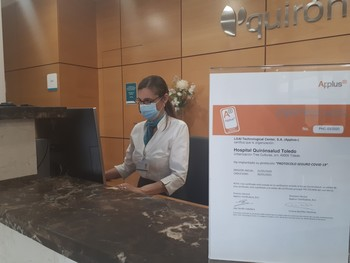 Quirón, el hospital con protocolo seguro contra el Covid-19